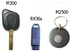 Type of TVR supplied fobs